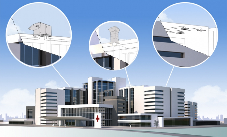 Optimal indoor air for healthcare environments